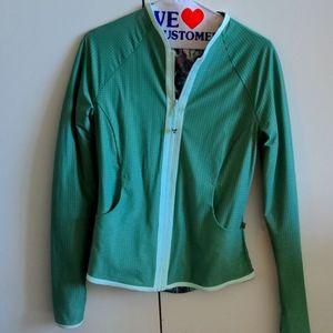 Lululemon reversible zip up jacket